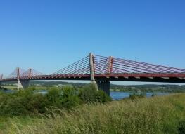 Most M4 przez Wisłę k. Kwidzyna
