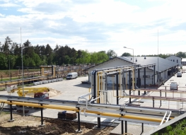 Terminal przeładunkowo-magazynowy gazu płynnego - GASPOL w Pawłowicach