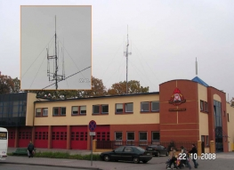 District Headquarters of the National Fire Service in Pabianice