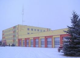 District Headquarters of the National Fire Service in Sieradz