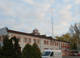 District Headquarters of the National Fire Service in Kutno
